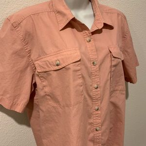Vintage -Travelsmith Water Resistant Travel Shirt